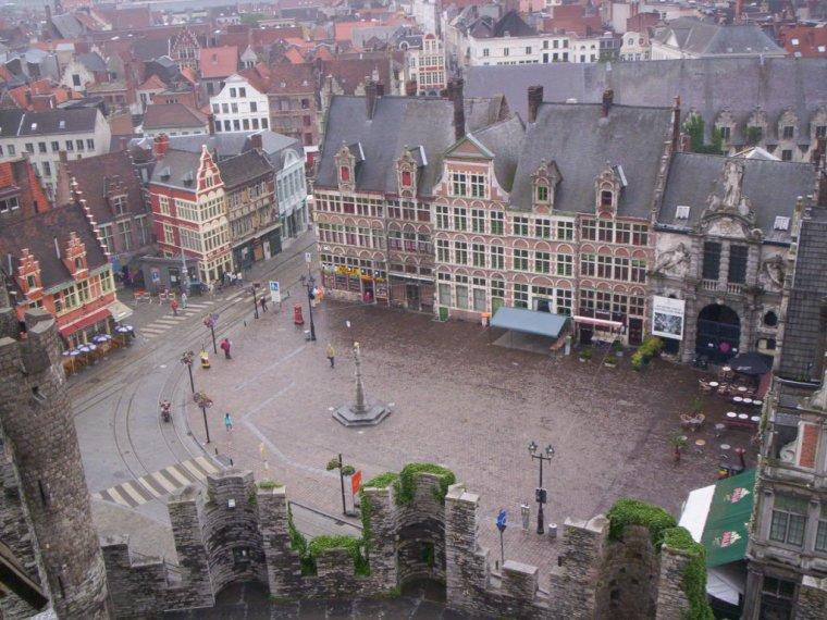 Belgique  -  Château des comtes de Flandre