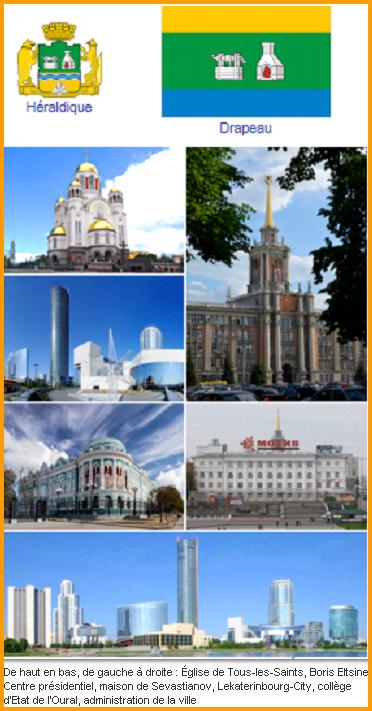 Russie  -  Iekaterinbourg