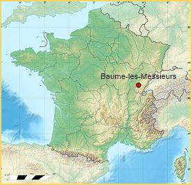 Les Plus Beaux Villages de France  -  Baume-les-Messieurs