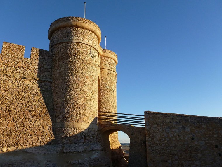 Espagne  -  Château de Chinchilla