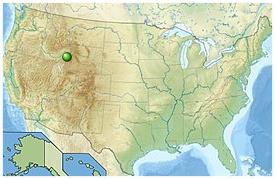 Etats-Unis  -  Forêt nationale de Caribou-Targhee