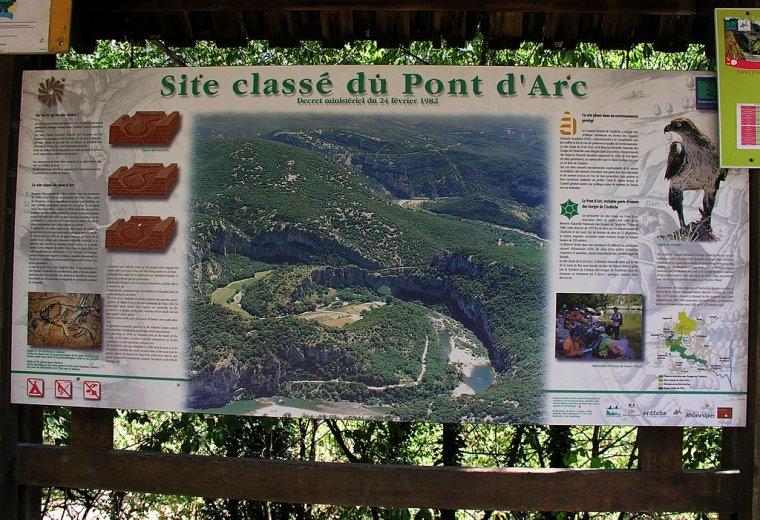 France  -  Pont d'Arc
