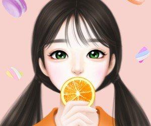 Un bon jus d'orange pour l'été, ça fait du bien ~