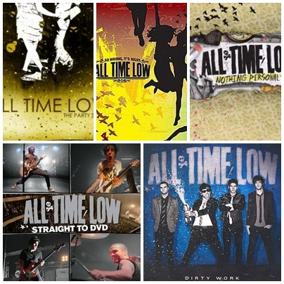 Albums et singles ALL TIME LOW