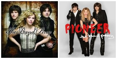Albums et singles The Band Perry