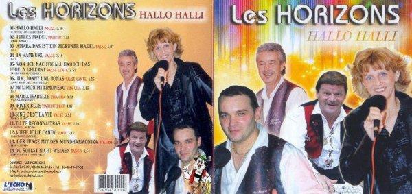 Nouveau  2013  CD Les Horizons