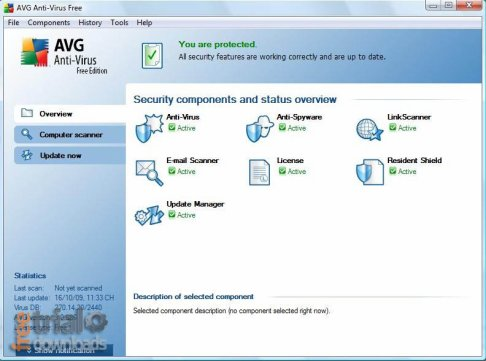 Télécharger AVG Free Version 2011 ( gratuit )