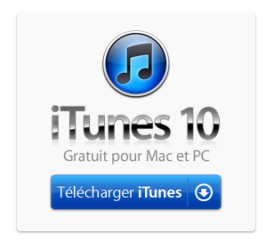 Télécharger iTunes10 Version Final ( gratuit )