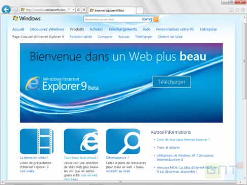 ⇩ Télécharger Internet Explorer 9 ( gratuit )