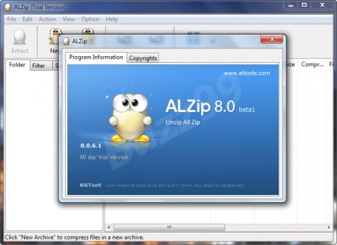 l► Télécharger ALZip ( gratuit )
