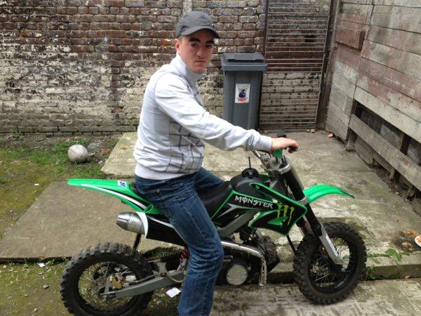 Moi sur ma motos