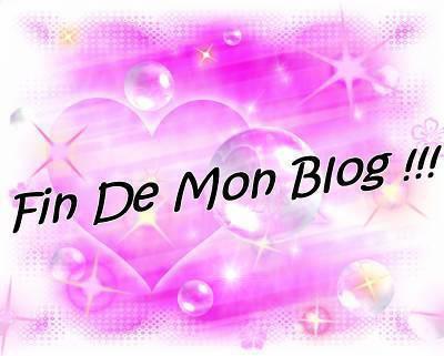 j'arréte mon blog !!