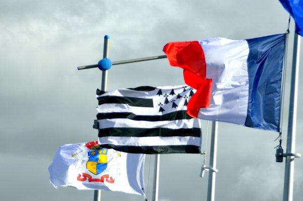 Drapeaux en Bretagne