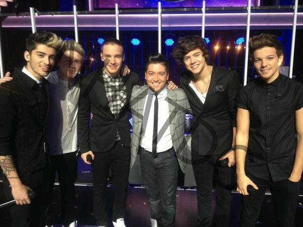 "One Direction avec Chris Marques de ""Danse aves les stars"""