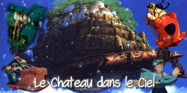 Animation Le Chateau dans le ciel .