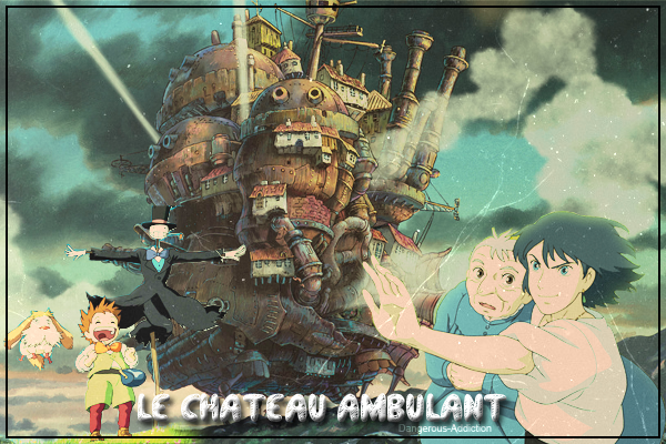 Animation  Le Chateau Ambulant .