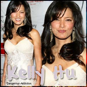.  Kelly Hu  .