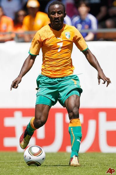 Short porté Seydou Doumbia