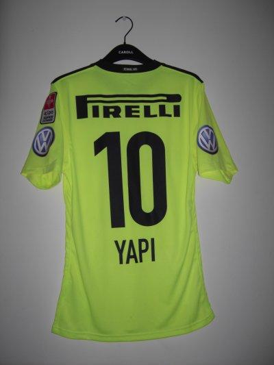 Maillot porté Gilles Yapi Yapo 2010/2011