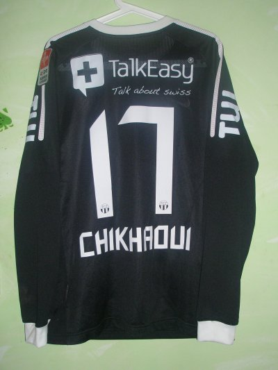 Maillot porté par Chikhaoui !!! International Tunisien