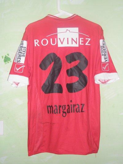Maillot porté par Xavier Margairaz contre Lucerne 2011/2012
