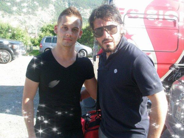 Gattuso & moi... et prochain maillot !!