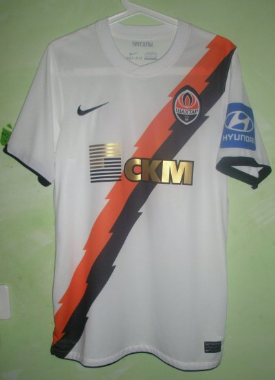 Maillot porté WILLIAN  Young Boys - Shakhtar Donetsk 04.7.2012