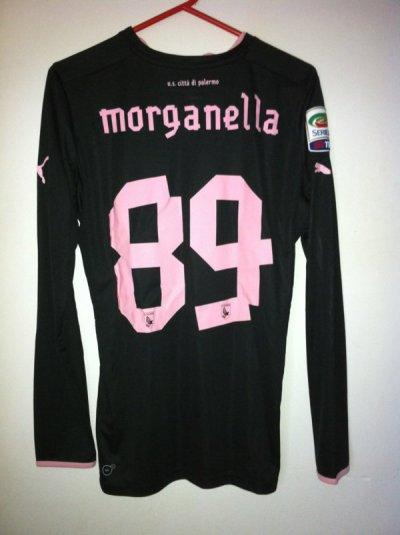 Maillot porté Michel Morganella Palermo 2012/2013
