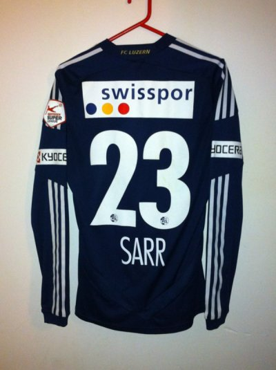 Maillot porté Sally Sarr Sion-Luzern 2012/2013