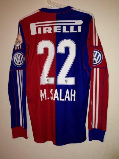 Maillot porté Mohamed Salah vs Zürich 2013/2014