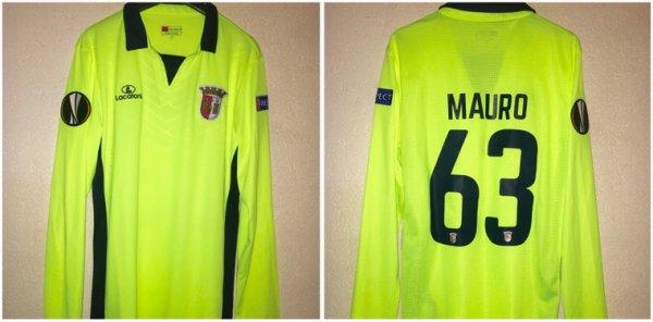 Maillot du Sporting Braga porté contre Sion en Europa League 15/16