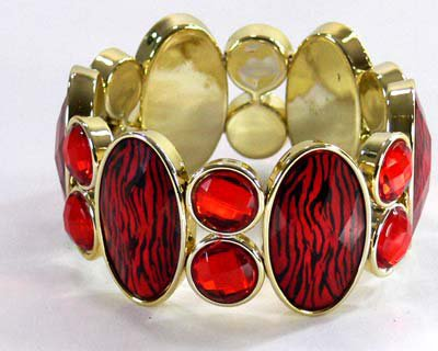 Bracelet Rouge et Or 5,90¤