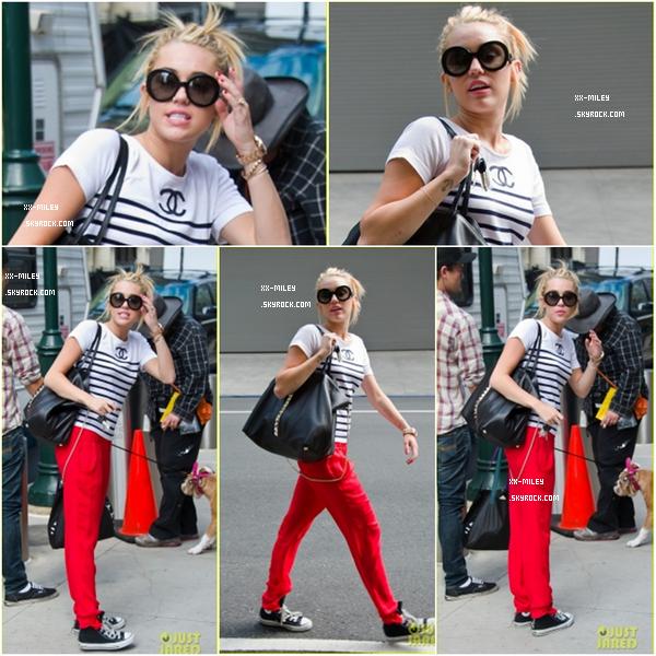 Miley sur le tournage de Paranoia.