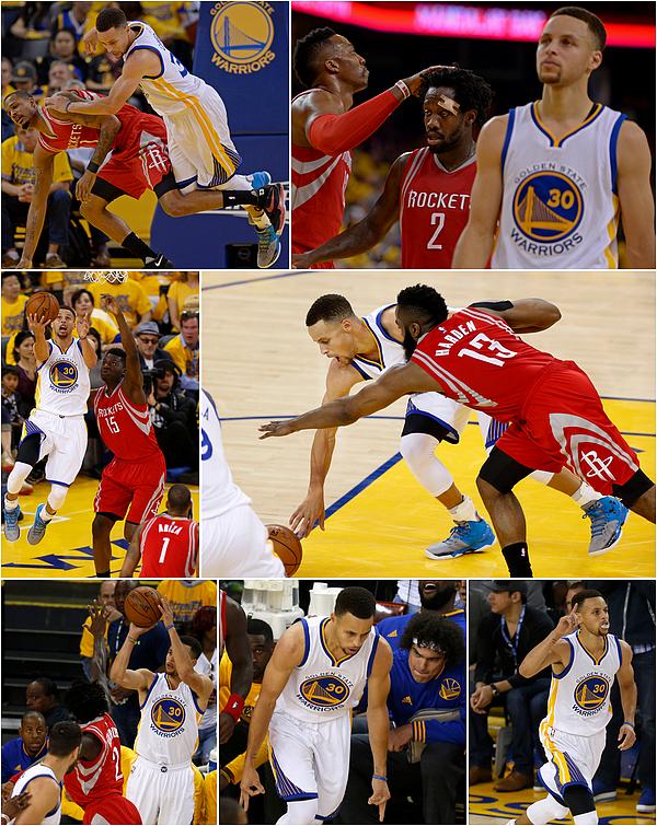 16/04/2016 : Golden State Warriors 104-78 Houston Rockets / Game 1