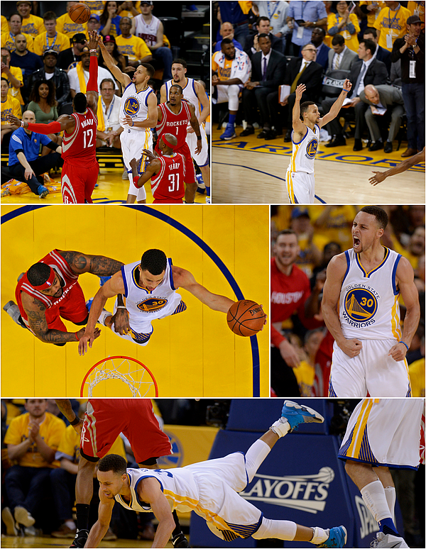 16/04/2016 : Golden State Warriors 104-78 Houston Rockets / Game 1