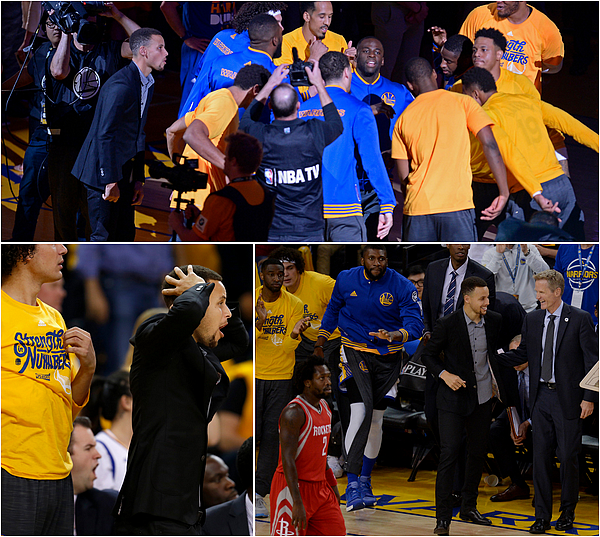 19/04/2016 : Golden State Warriors 115-106 Houston Rockets / Game 2