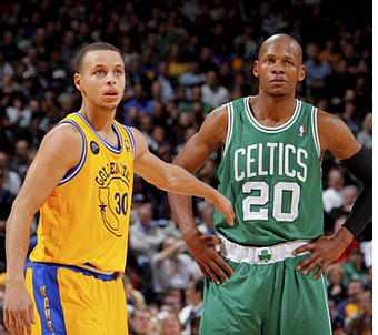 20/04/2016 : Ray Allen pays tribute to Stephen Curry