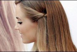 Comment faire cette jolie coiffure?