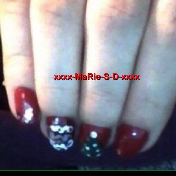 Résultats du concours Nail Art de Noël