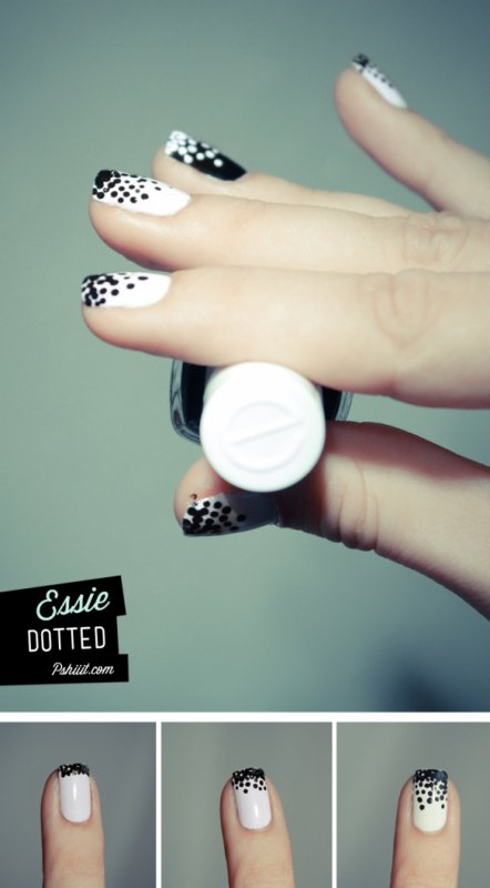 Nail Art bubbles