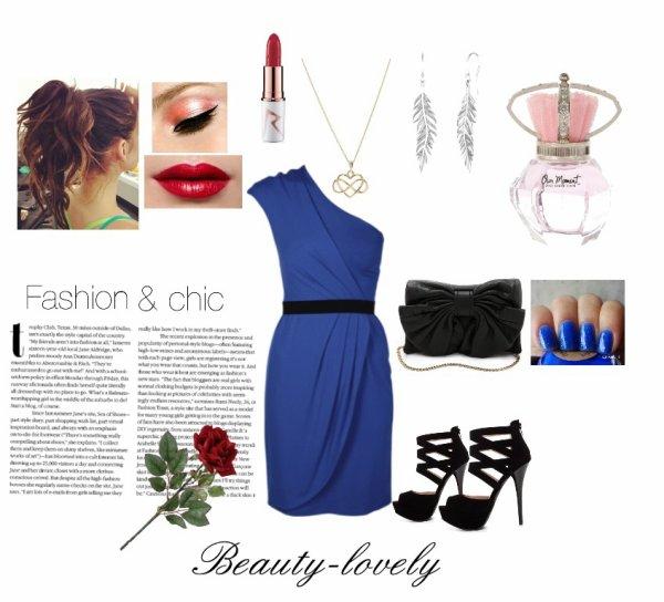 Tenue chic & glamour pour les soirées