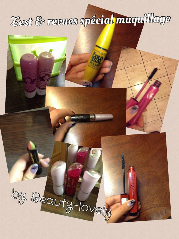Test & revues spécial Maquillage