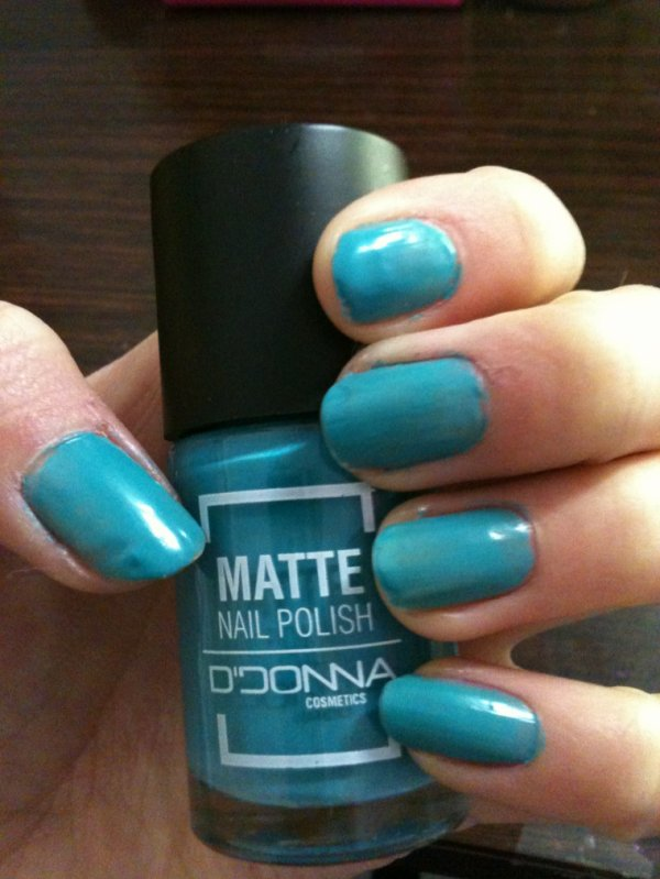 Test vernis turquoise