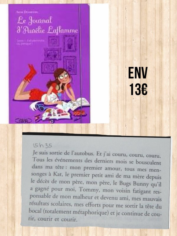 Sélection de livres (1)