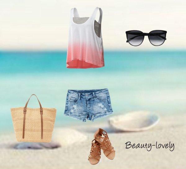 Tenues d'été - Sur la plage...