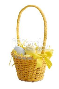 Customiser un panier pour la chasse aux ½ufs de Pâques