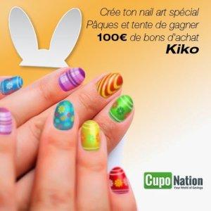 Qui veux gagner un bon d'achat 100¤ chez Kiko
