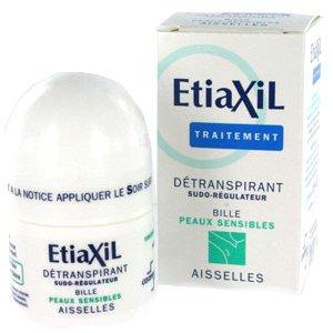Revue - Produit anti-transpiration : L'Etiaxil .