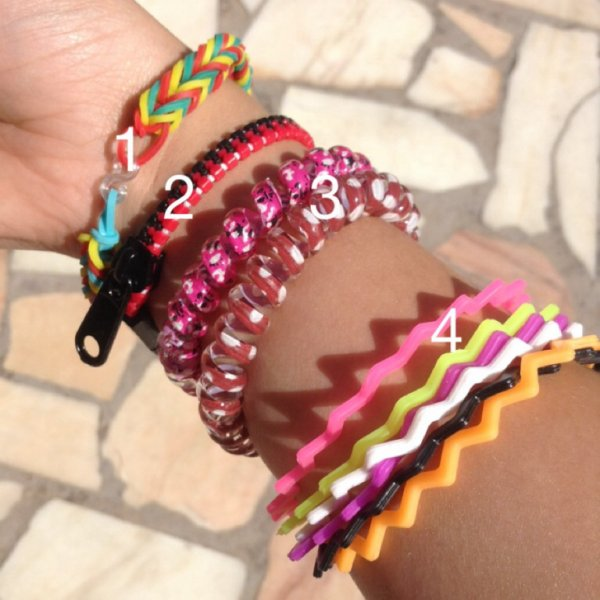 Bracelets de l'année 2014 !