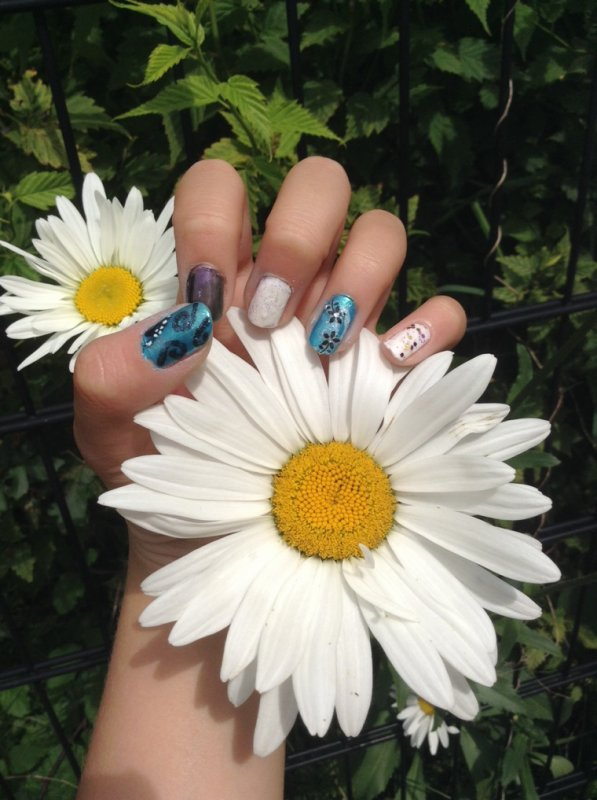 Nail Art Elfique